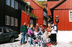 Et udsnit af gruppen i Thorshavn. Foto Gerd Gottlieb